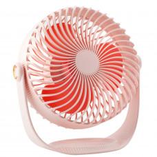 Вентилятор беспроводной Revyline WT-F12, розовый