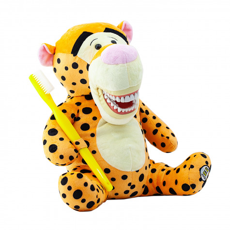 Игрушка мягкая с зубами Revyline, Тигр